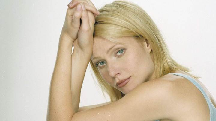 Gwyneth Paltrow Golden Hairs At Robert Fleischauer Photoshoot